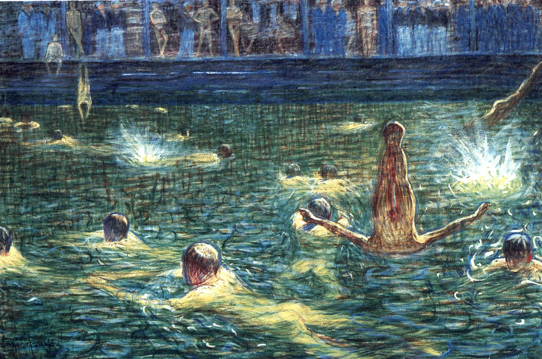 Eugène Jansson_Badsump(Flottans Badhus, 1911)