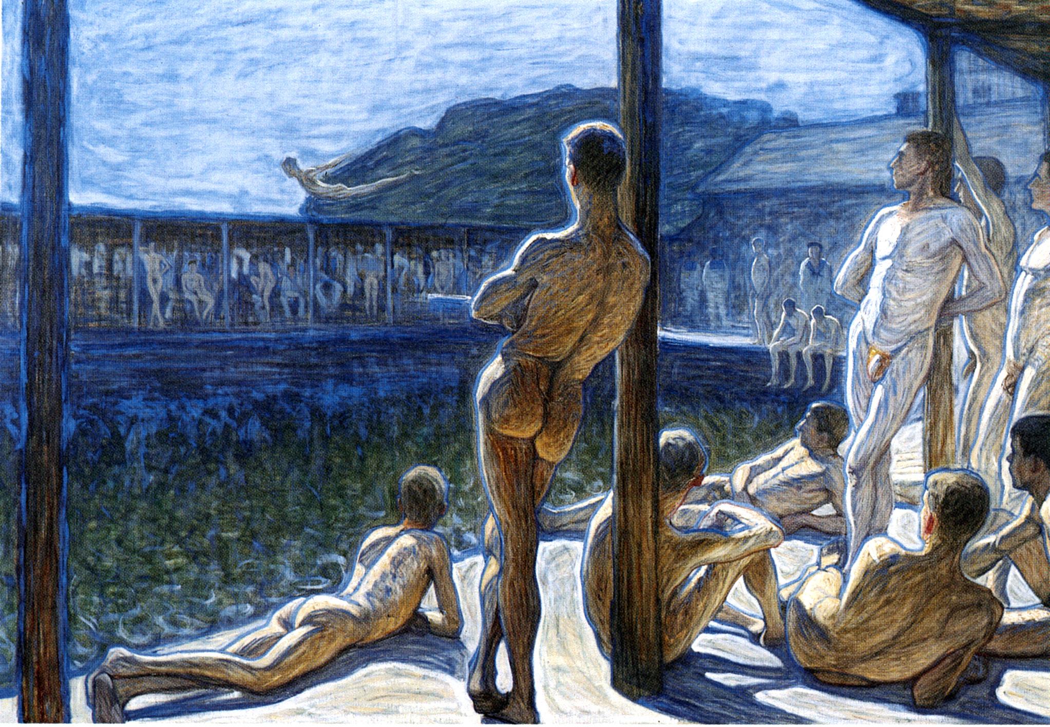 Eugène Jansson_Flottans Badhus, 1907_Thielska Galleriet