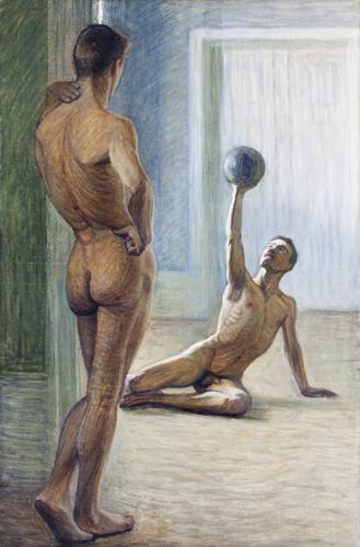 Eugéne_JANSSON_Atleti_1912_(Prins Eugens Waldemarsudde_Stoccolma)
