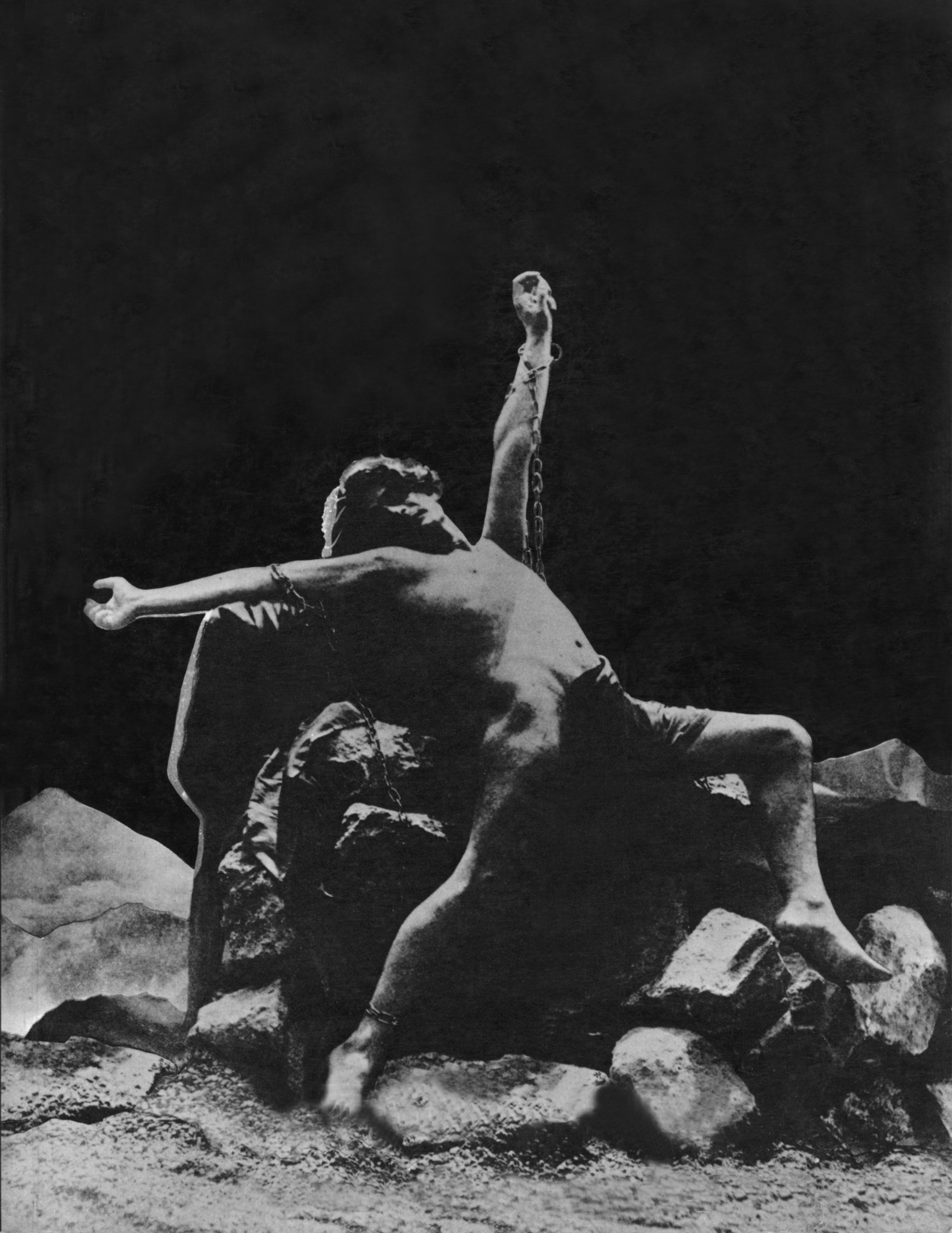Prométhée de Jean Lorrain, musique de Gabriel Fauré, aux arènes de Béziers en 1900