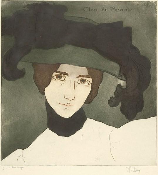 1900_Alfredo_Müller,_Cléo_de_Mérode