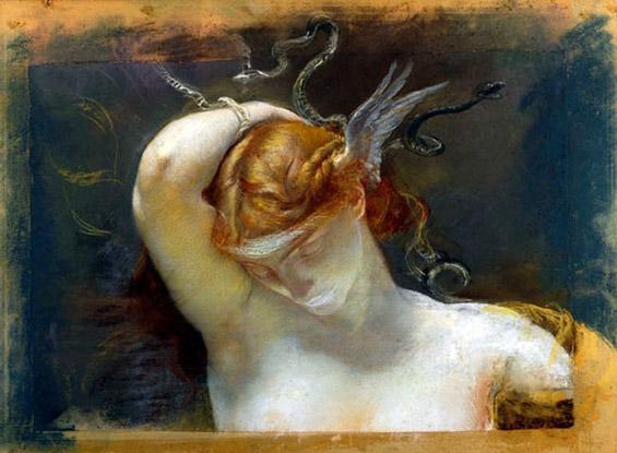 1895-GiulioAristideSartorio1860-1932-Studio-per-la-testa-della-Gorgone