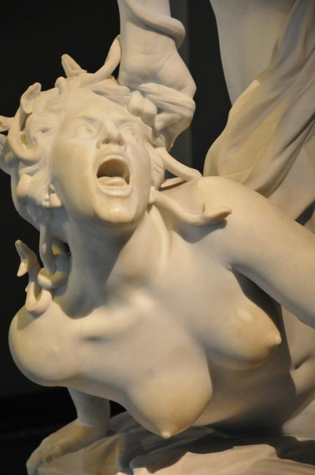 Laurent-Honore Marqueste - Perseus Slaying Medusa 1876