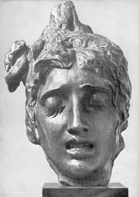 Alajos Stróbl - Head of Medusa, c. 1920