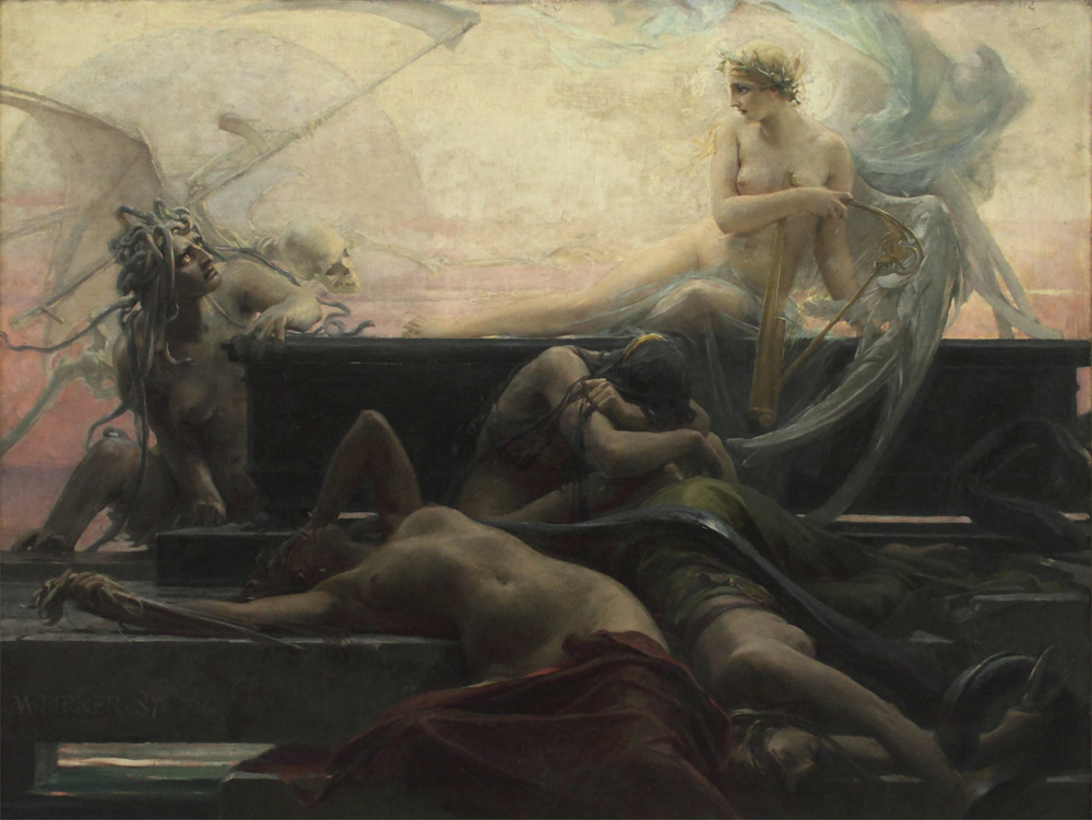 Maximilian Pirner, Finis (The End of All Things), 1887
