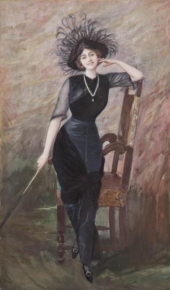 Pietro Scoppetta Ritratto di Vittoria Lepanto