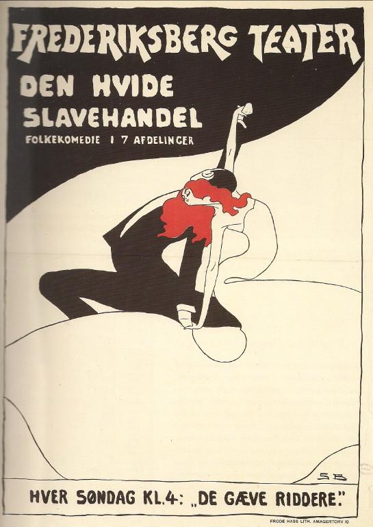 Sven Brasch, Danmark. Cartel, 1910