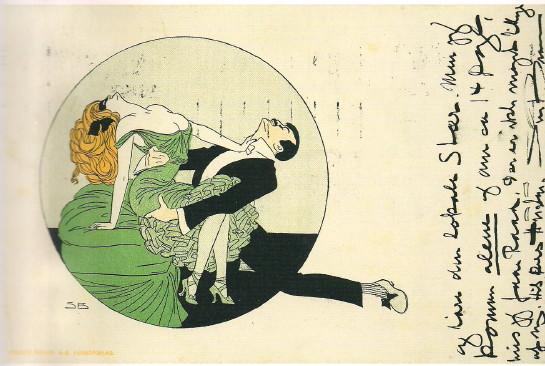 Sven Brasch. Tarjeta postal, 1911.
