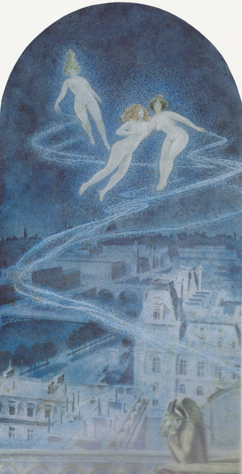Eros, 1900. Acquarello
