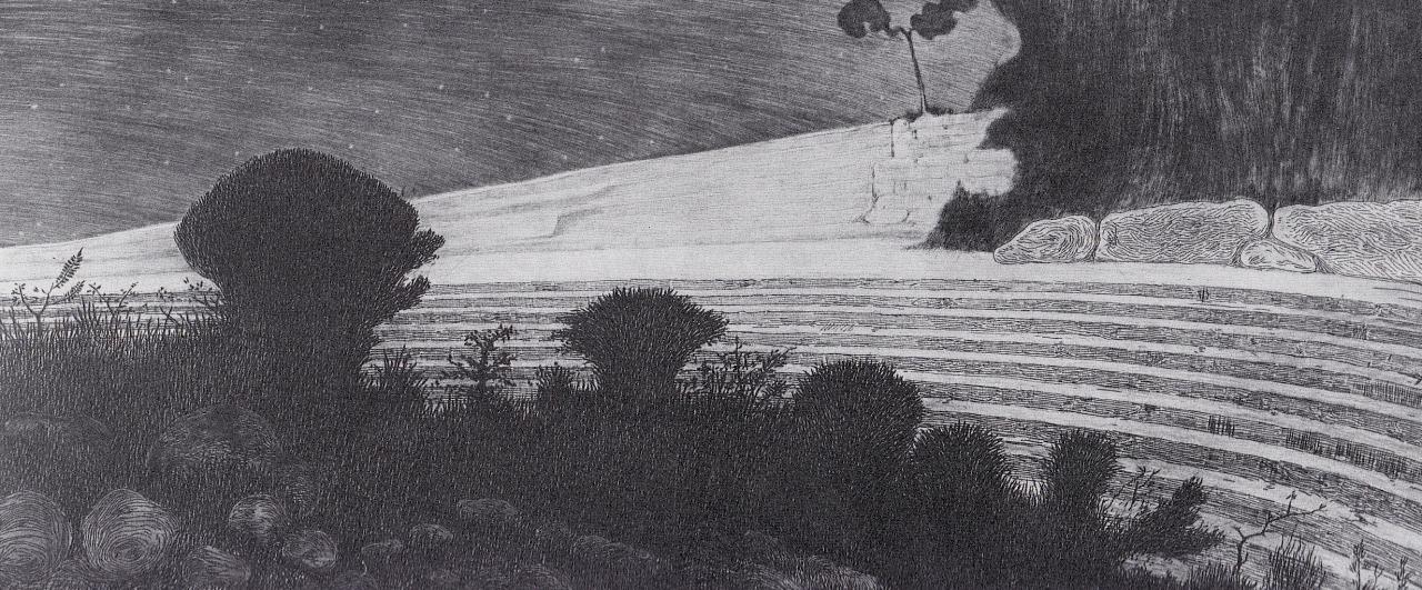 Giorni Lontani, 1912. Acquaforte e puntasecca