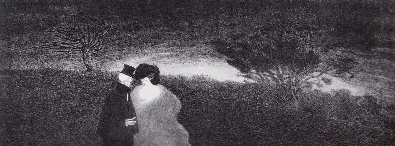 Il Convegno, 1908. Carboncino
