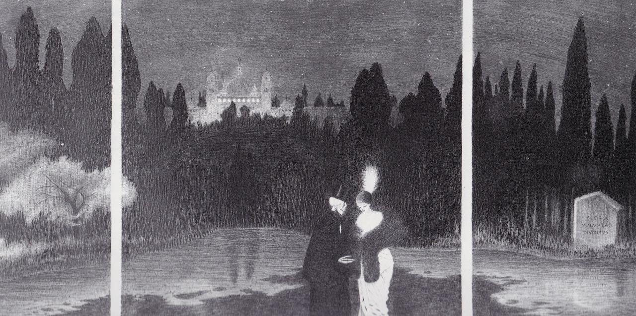 Il Convegno, 1914. Acquaforte e puntasecca