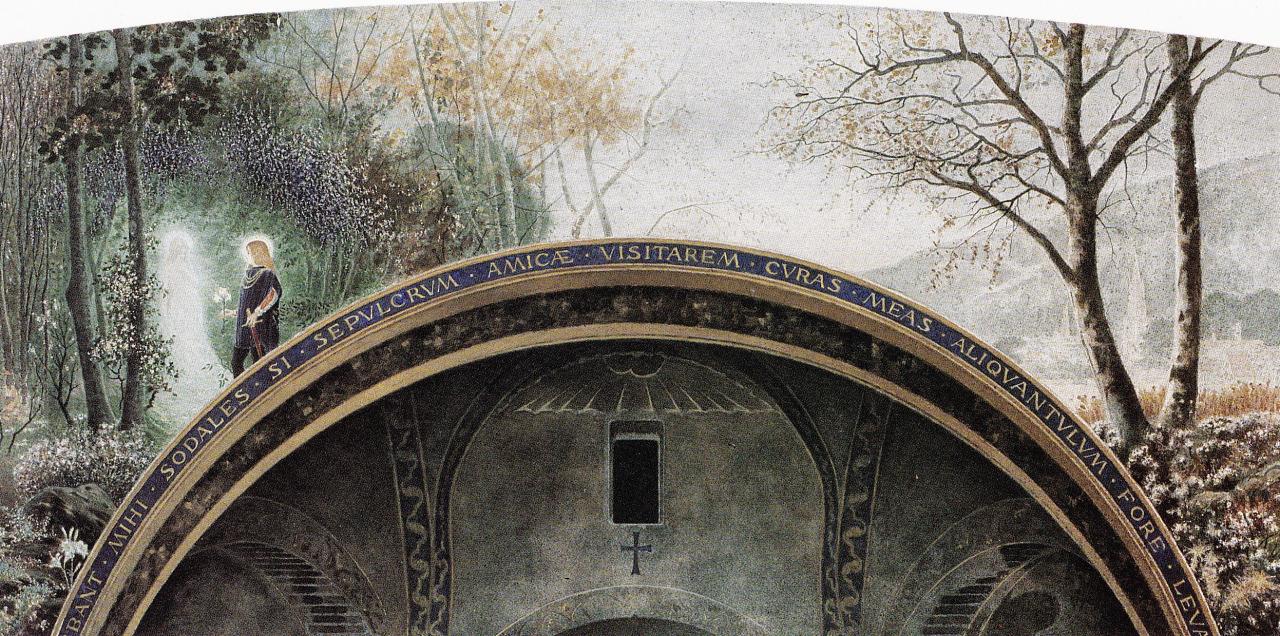 Il Miracolo, 1900. Acquarello