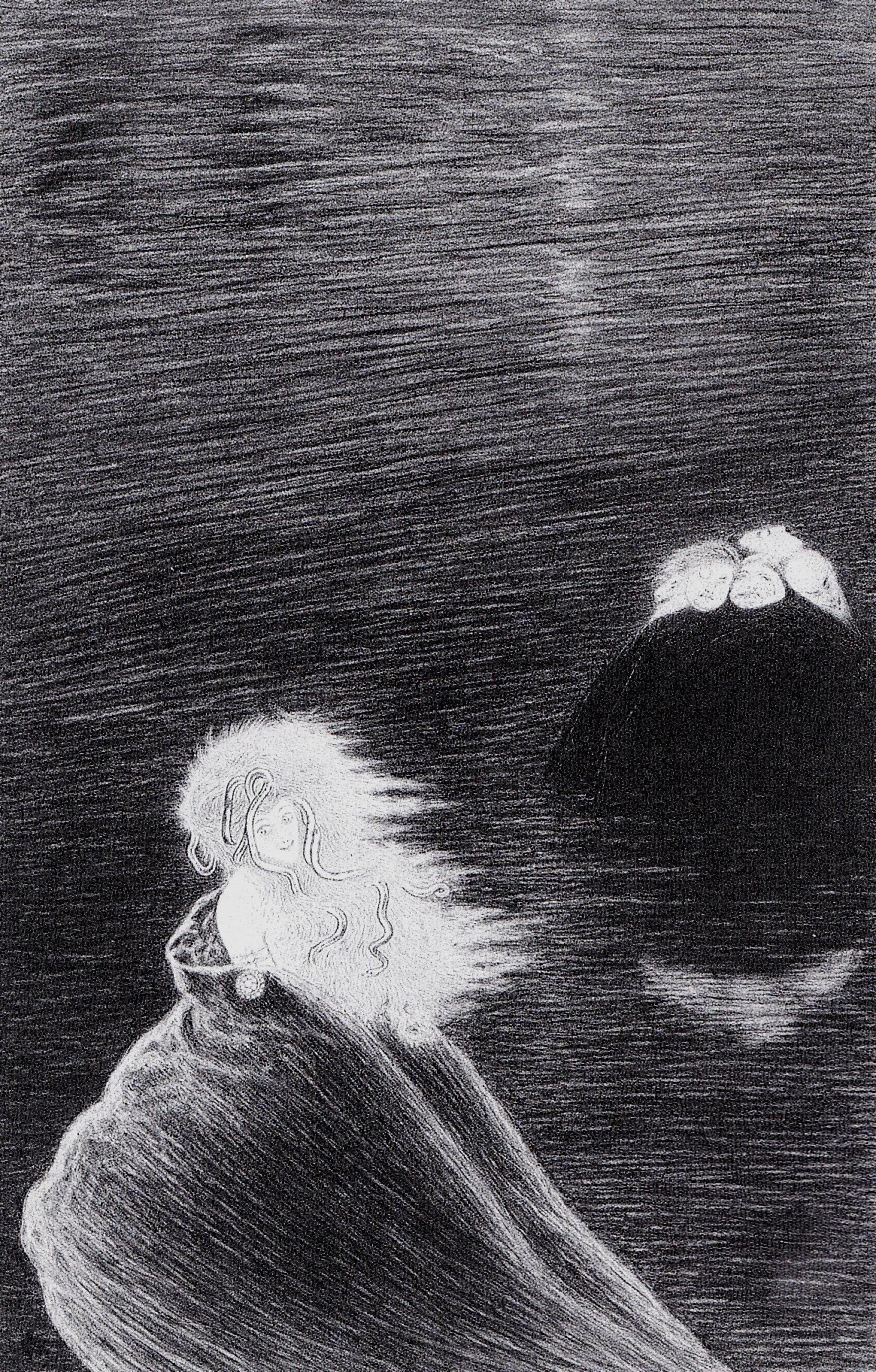 Medusa Conquistatrice, 1910. Carboncino e matita