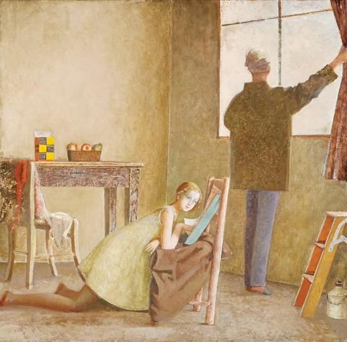 13.Le peintre et son modèle r