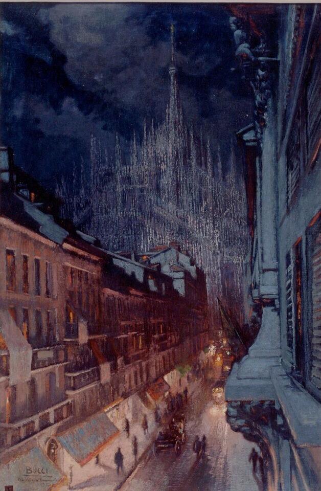 """""""Veduta di Milano"""", 1922"""