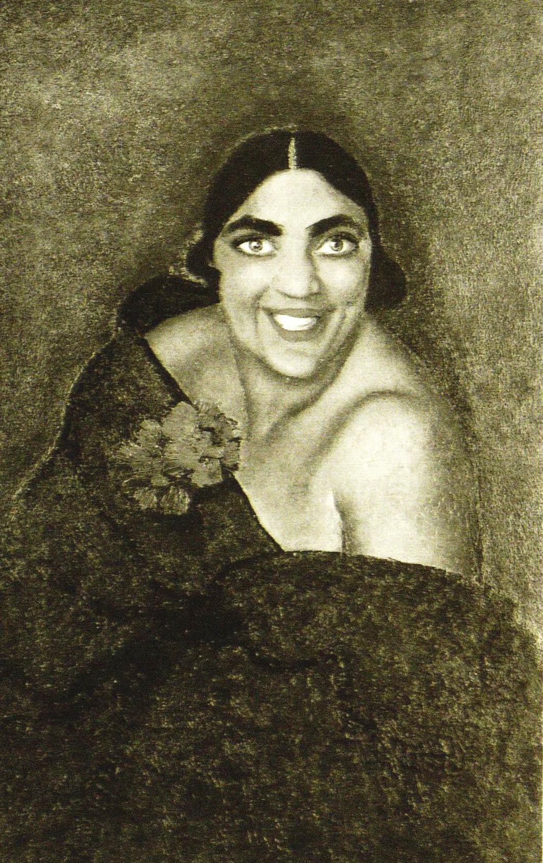 Angelika Kravčenko nel ritratto di Anselmo Bucci del 1927