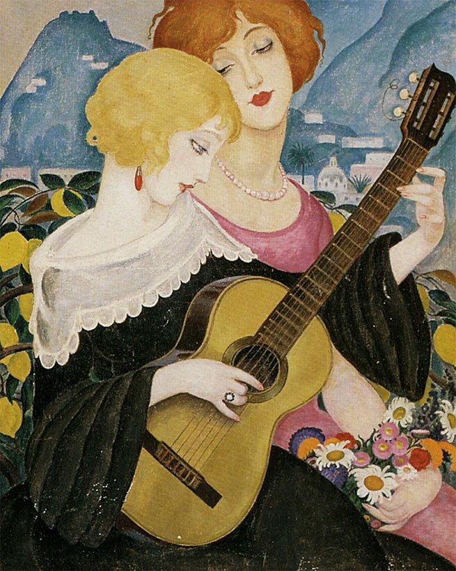 Gerda Wegener, Air de Capri, 1923 (2)
