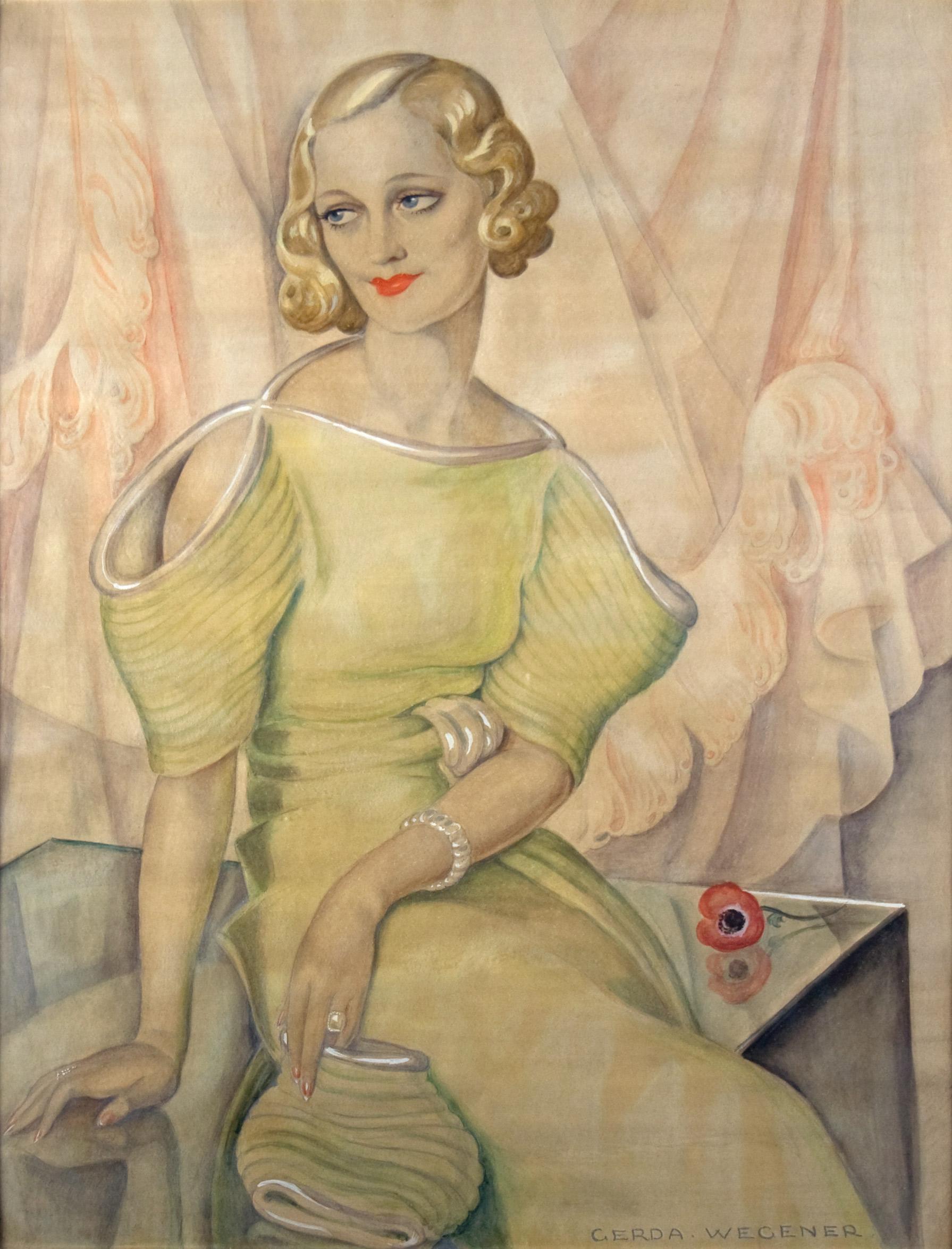 Gerda Wegener, Eva Heramb, 1934.