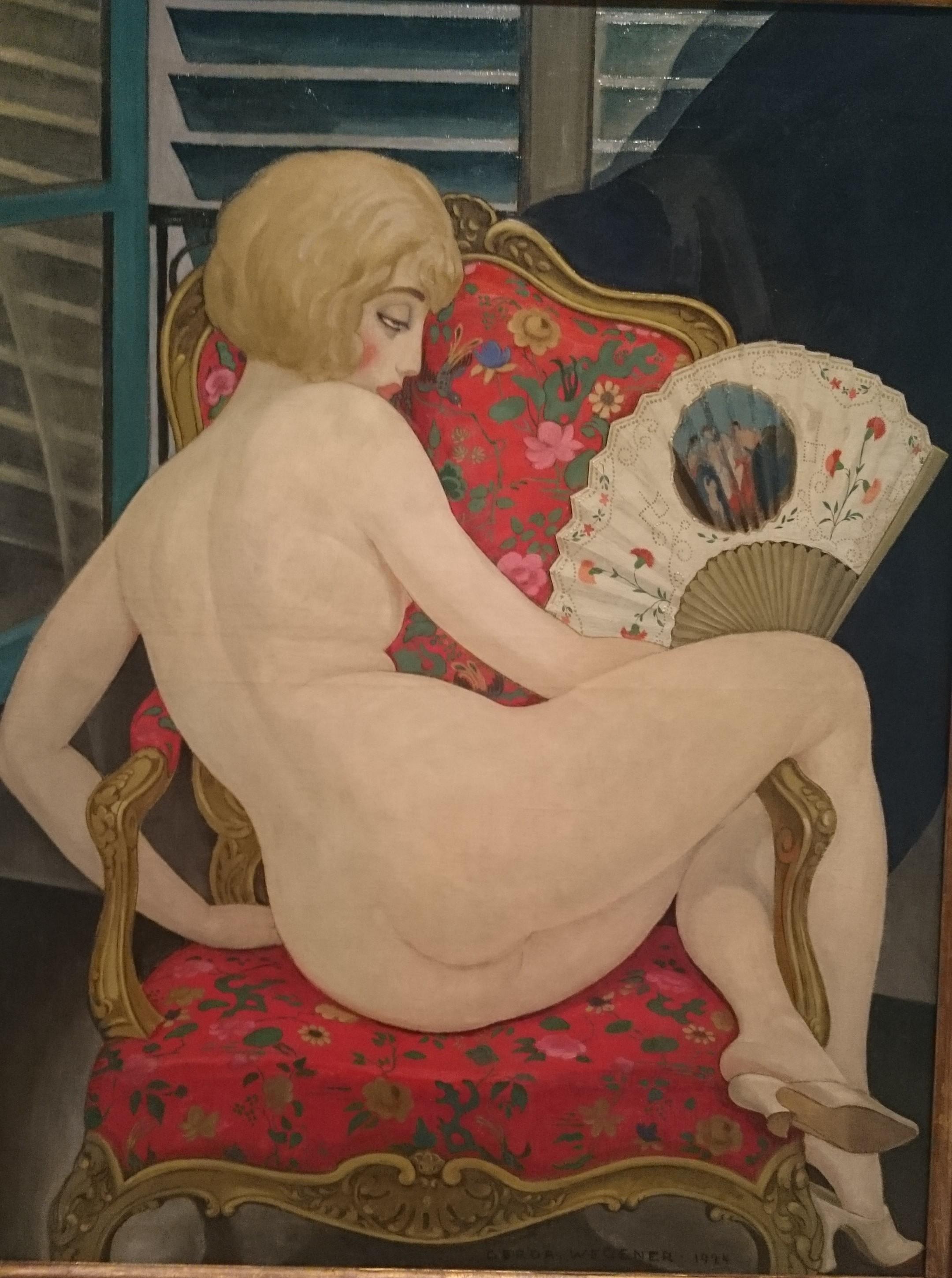 Lili, Caldo estivo, 1924, olio su tela