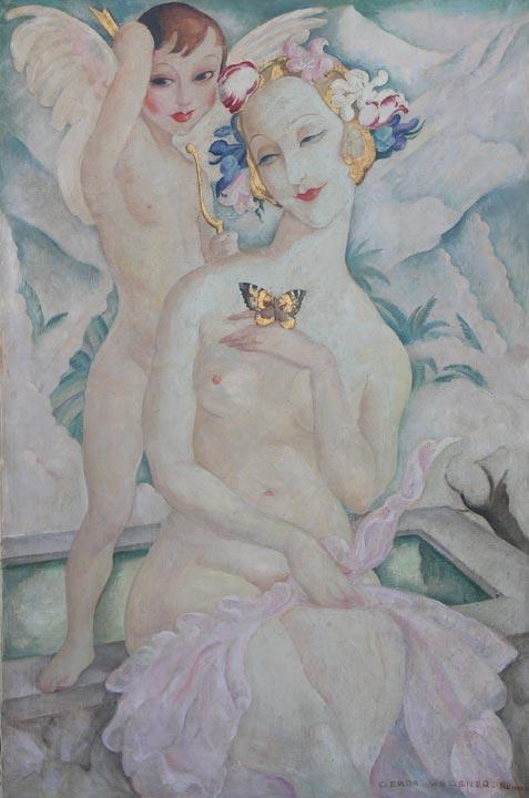 Primavera, by Gerda Wegener, c.1938