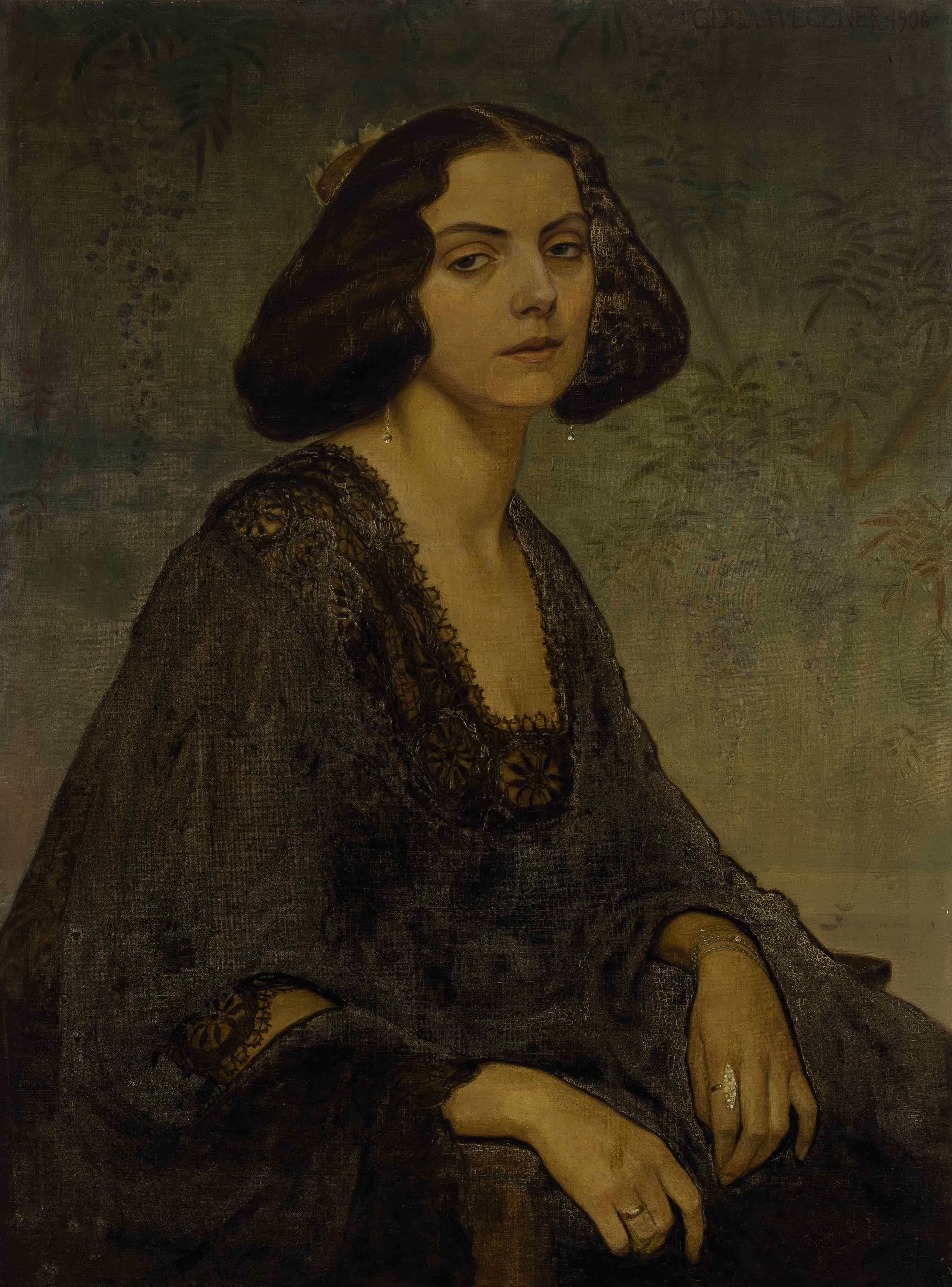 Ritratto di Ellen von Kohl, 1906