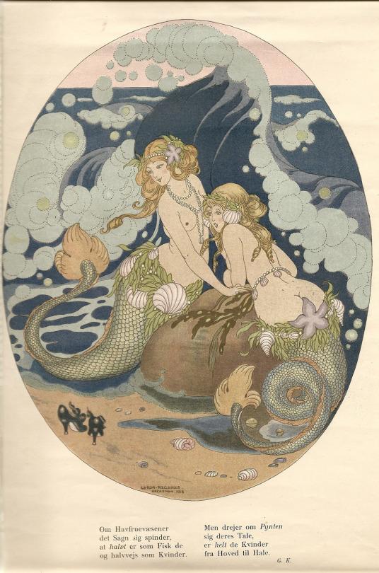 lustraciones de sirenas 1918-21