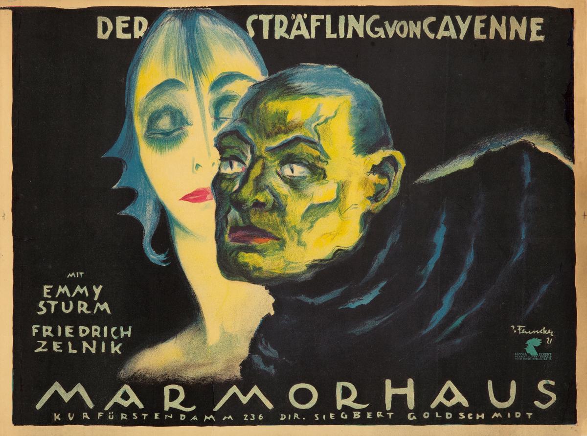 rocaille-blog-josef-fenneker-Der Strafling von Cayenne-1921