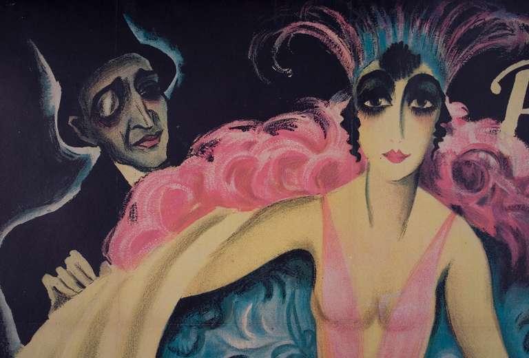rocaille-blog-josef-fenneker-Luna Palais a German Poster by Josef Fenneker, 1921