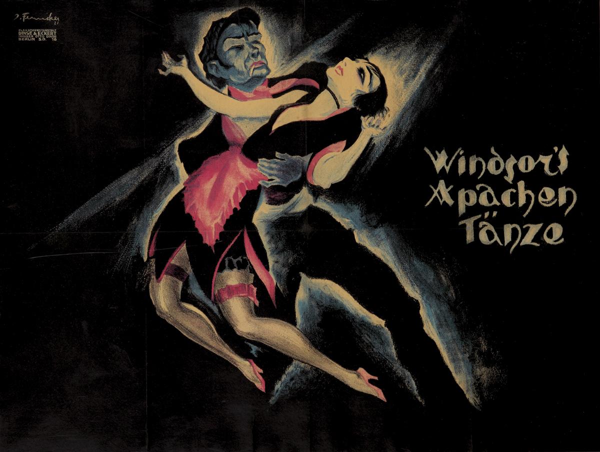 rocaille-blog-josef-fenneker-Windsor's Apachen Tanze-1921.