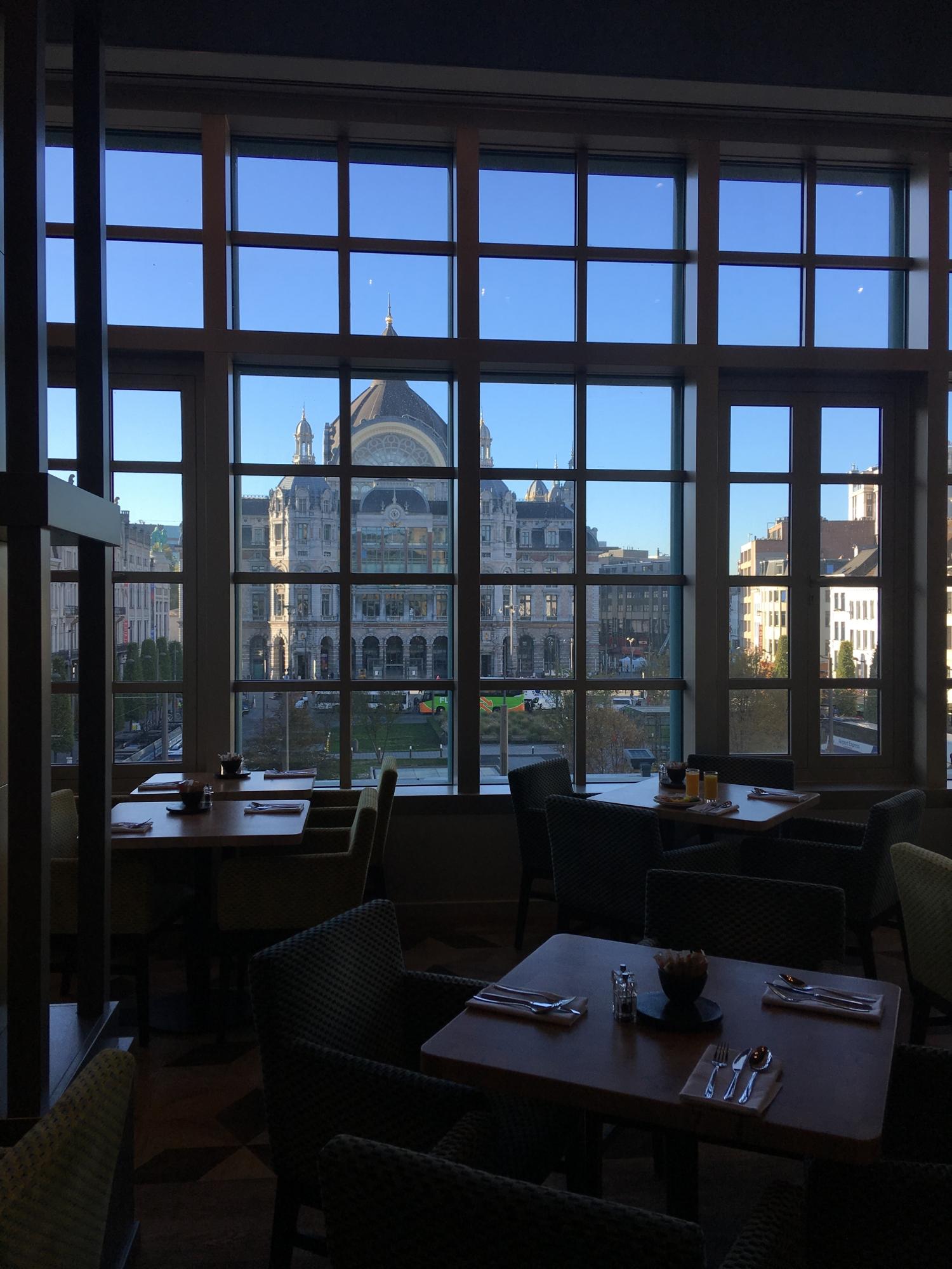 View from Radisson Blu Hotel