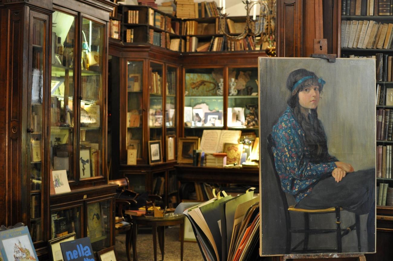 Come Allestire Una Libreria antica libreria cascianelli, roma